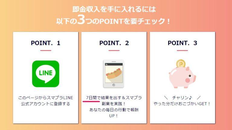 スマプラ(副業アプリ)の公式ページ3